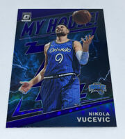 NIKOLA VUCEVIC 2019-20 DONRUSS OPTIC PURPLE PRIZM HOLO MY HOUSE! ORLANDO MAGIC