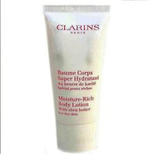 Clarins Moisture Rich Body Lotion With Shea Butter 30ml Body Moisturisers Lotion
