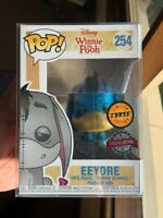 RARE Eeyore CHASE DIAMOND GLITTER Funko Pop Vinyl New in Mint Box + Protector