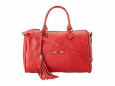NWT VALENTINO BY MARIO VALENTINO TONIA RED BOWLER LEATHER BAG PURSE RETAIL $895