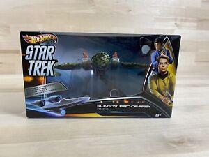 Klingon Bird of Prey Hot Wheels Star Trek Action Ship Set Mattel