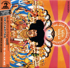 JIMI HENDRIX Axis Bold As Love JAPAN Mini LP 1st Press CD 2000 W/Obi Mint!