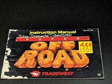 SUPER OFF ROAD Instruction Manual Nintendo NES LG condition
