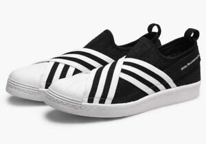 adidas x White Mountaineering Superstar Slip On PrimeKnit Size 11.5 RRP £130