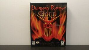 Dungeon Keeper Gold (Not EA Classics) - IBM PC - Complete in Big Box / Rare