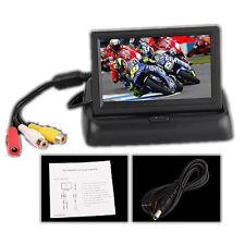 "4.3"" Zoll Auto TFT Farb Monitor fuer DVD Rückfahrkamera Klappbar DE"