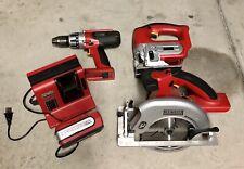 Craftsman Professional 20V Li-On Drill/Jigsaw/Circular Saw Set W/1 Batt& Chrgr