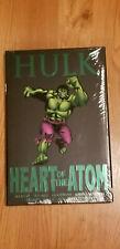 HULK: HEART OF THE ATOM~HARD COVER PRICE $29.99~ MARVEL COMICS PREMIERE EDITION