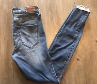 Hollister Women's ~ Hight Rise Super Skinny Stretch Jeans ~ Sz 3R Measures 26x30