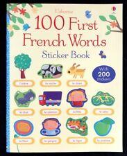 100 First FRENCH Words BOOK Usborne home school GLEN IRIS teaching resource