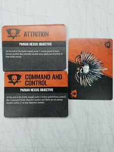 Kill Team Pariah Nexus Objective Cards