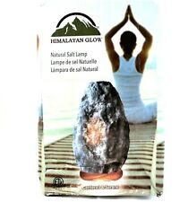 Himalayan Glow Natural Crystal Salt Lamp Grey Centered & Serene Dimmer Relaxing