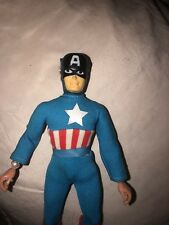 "Mego 1973 8"" Captain America Type 1 All Original And Complete"