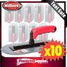 Plaster 10 Piece 280mm Render Trowel Float Plastic Oval Suit Unitex PTO-280