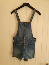 Superdry Vintage Denim Ladies Dungarees Size S