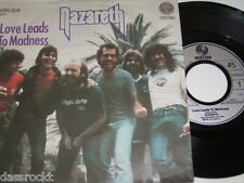"7"" - Nazareth / Love Leads to Madness & Take the Rap - 1982 MINT # 3524"