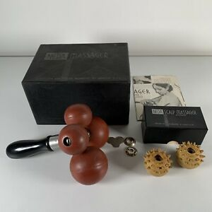 Neda Massager C1910 Rare Boxed Vintage Complete W/Attachments & Instructions