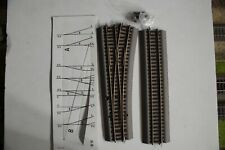 ROCO, WL15 42533 MANUAL TURN OUT TRACK NEW, SCALE HO