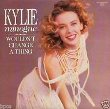 NEW MINT AUSSIE Kylie Minogue Wouldn't Change A Thing PWL STOCK AITKEN WATERMAN