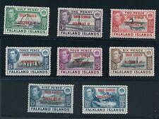 "1944 Falkland Islands ""SOUTH GEORGIA DEPENDENCY"" OVERPRINTS, MH, CAT VALUE $28"