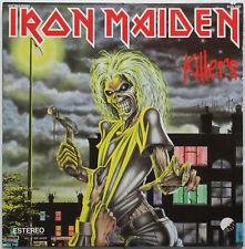 IRON MAIDEN Asesinos (Killers) 1981 MEXICO ORG Metal LP NWOBHM Spanish Titles!