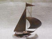 60's?  Copper and Wire Sailboat