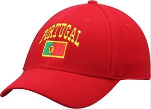 PORTUGAL Top of the World Olympics Europe's World Cup 1Fit Flex RED Hat (NEWNEW)