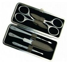 Niegeloh Solingen 5ps German Top Quality Stainless Steel Manicure set in Leather