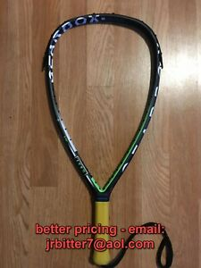 Gearbox GBX1 165T Racquetball Racquet (used)