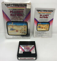 Vintage Planet Patrol Atari 2600 spectravision CIB box game Cartridge manual