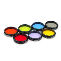 "SVBONY 1.25""Moon Filter+CPL Filter+5 Colorful Filter Kit for Telescope Eyepieces"