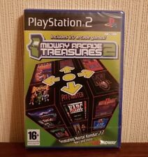 Midway Arcade Treasures 2 (Sony PlayStation 2, 2004) - Brand New
