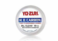 Yo-Zuri H.D. Carbon 100% Fluorocarbon Leader Clear 30yds | Fishing Line