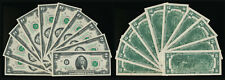 Ten(10) Consecutive Serial Numbered 1976 $2 Notes (Crisp Beauties !) No Reserve