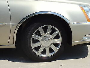 For: CADILLAC DEVILLE DTS; FTCA219 Stainless Steel Fender Trim 3/4 2000-2011
