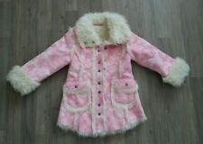Mexx Wintermantel Winterjacke Gr. 98/104 rosa Prinzessin wie NEU