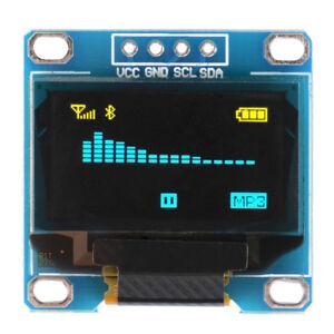 "0.96"" 128x64 IIC I2C OLED Display Module - Arduino- White / Blue / Yellow & Blue"