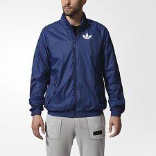 adidas Men's Superstar Windbreaker AB7883 Size Medium (Midnight Blue) $120