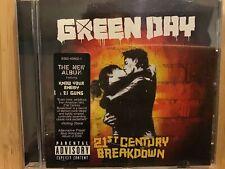Green Day, 21 th century breakdown, CD