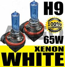 Blue White H9 Holden Commodore VE High Beam LIGHT Bulbs Globes