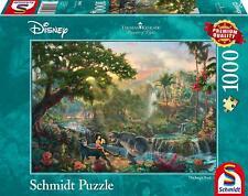 The Jungle Book: Schmidt Disney Premium Thomas Kinkade Jigsaw Puzzle 1000 p'ce 5