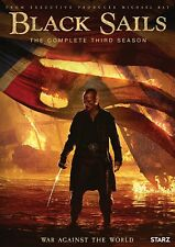 Black Sails-Season 3 (Dvd/3 Disc) New, Free shipping