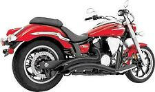 Freedom Curve Radius Exhaust Sys Black Suzuki Boulevard M109R VZR1800 06-17