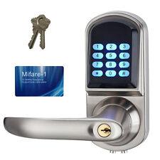 New Smart Electronic Keyless Code Door Lock Unlock with Code/IC Cards/Mechanical