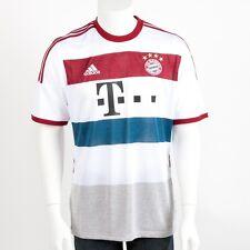 Adidas F48414521 Bayern München Herren Trikot Jersey  Auswärtstrikot Weiß XXL
