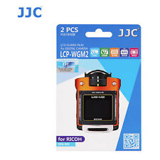 JJC LCP-WGM2  polycarbonate LCD Film Screen Protector RICOH WG-M2 WG 2