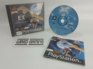 E.T. Extra-Terrestrial Interplanetary Mission - PS1 (Playstation 1) Complete PAL