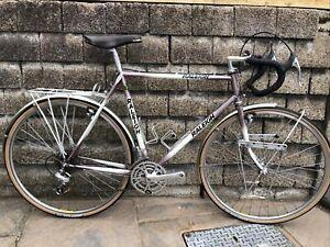 """Vintage 1987 Raleigh GOD Randonneur Reynolds 531st 22.5"""" Gents Touring Bike Sbdu"""
