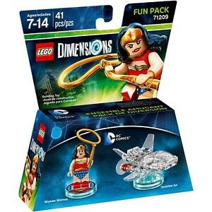 LEGO Dimensions ~ Wonder Woman Invisible Jet DC COMICS Fun Pack 71209 New Sealed