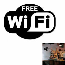 Free WiFi Sign Decal Sticker For Shop Office Cafe Bar Pub Restaurant Window Wall